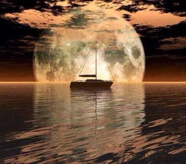 Tu cuerpo es un barco de vela. Dos capitanes - la mente y el corazón. La vida es un océano. No importa cómo navegues o donde llegues. Enamórate del mar que te rodea... Esto es lo que importa.