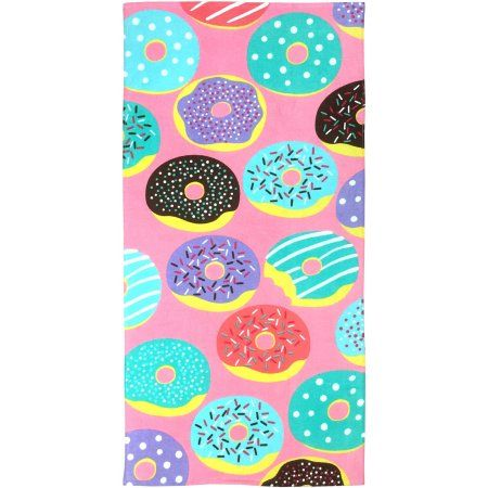 Buy Mainstays Jolly Donuts Multi Color At Walmart Com Beach