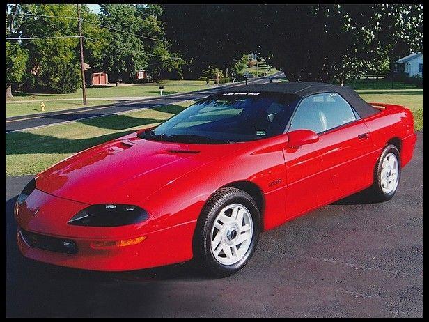 1995 Chevrolet Camaro Z28 Convertible 5 7 V8 Chevrolet Camaro