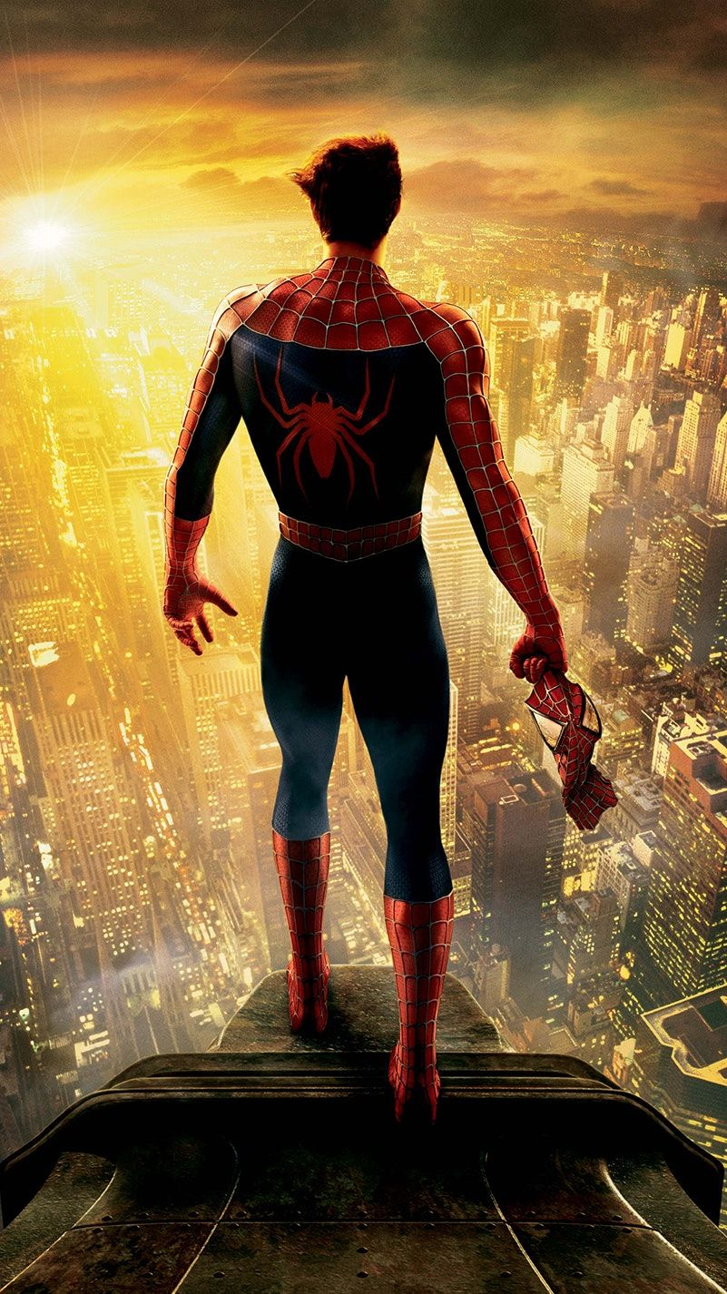 SpiderMan 2 (2004) Phone Wallpaper Spiderman movie