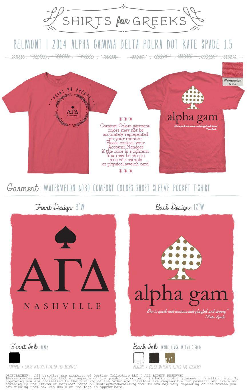 Alpha Gamma Delta Kate Spade With Images Alpha Gamma Delta