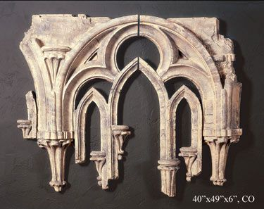 Wall Tracery Fragment Set In 2019 Architectural Wall
