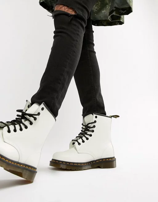 dr martins white boots