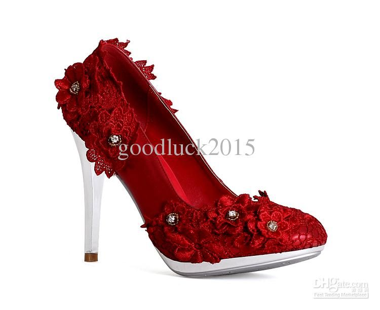 red and white shoes heels | Gommap Blog