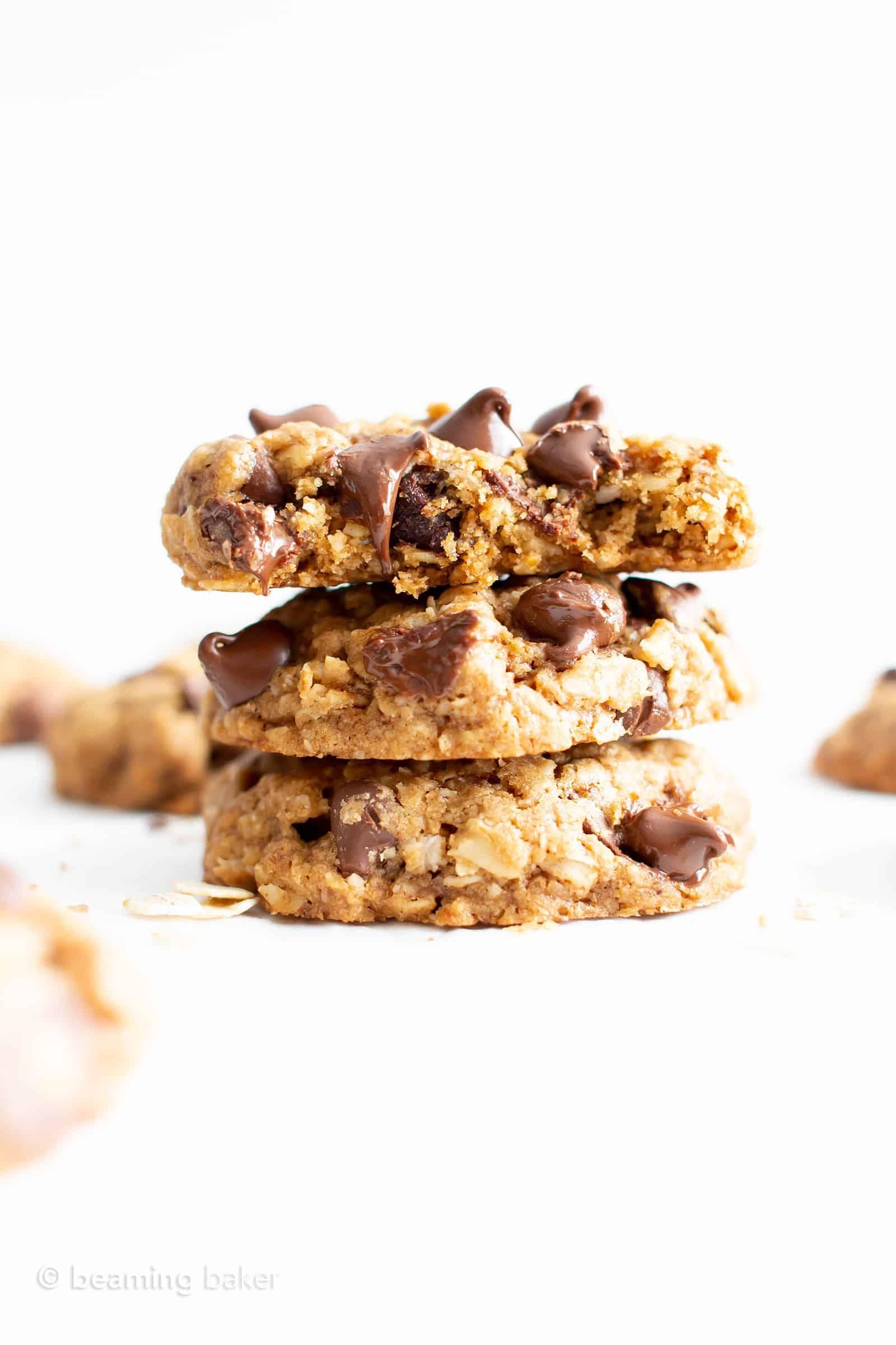 Best Gluten Free Oatmeal Chocolate Chip Cookies Recipe Gf Vegan