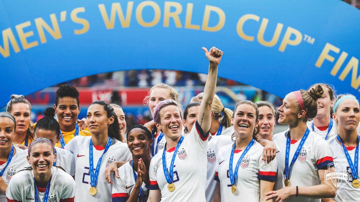 Brian Schmetzer Brianschmetzer Uswnt Mpinoe Alexmorgan13 Congrats On The World Cup Win But Also My Support In Th World Cup Soccer World Latest World News