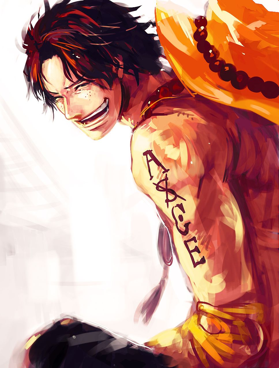 D Exhibition One Piece : One piece portgas d ace pinterest