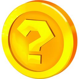 Bitcoin At 2439 00 Us Dollars Gold Per Ounce 1249 Super Mario Question Mark Icon Mario