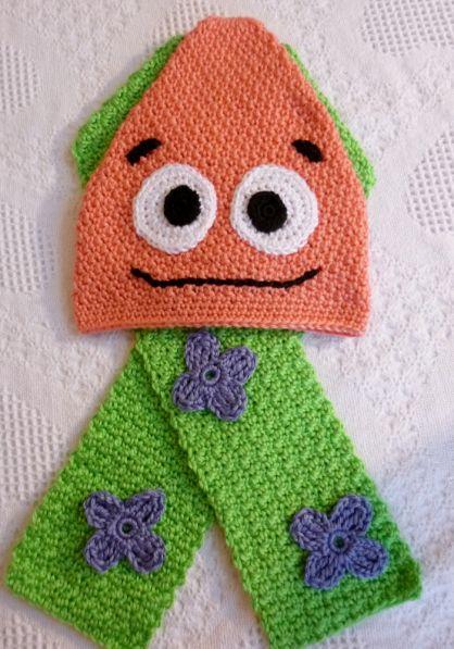 Crochet Pattern Inspired By Patrick Star From Spongebob Squarepants