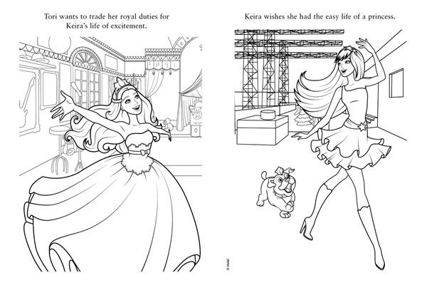 Princess and the popstar coloring page Party ideas Pinterest - best of coloring pages barbie rockstar