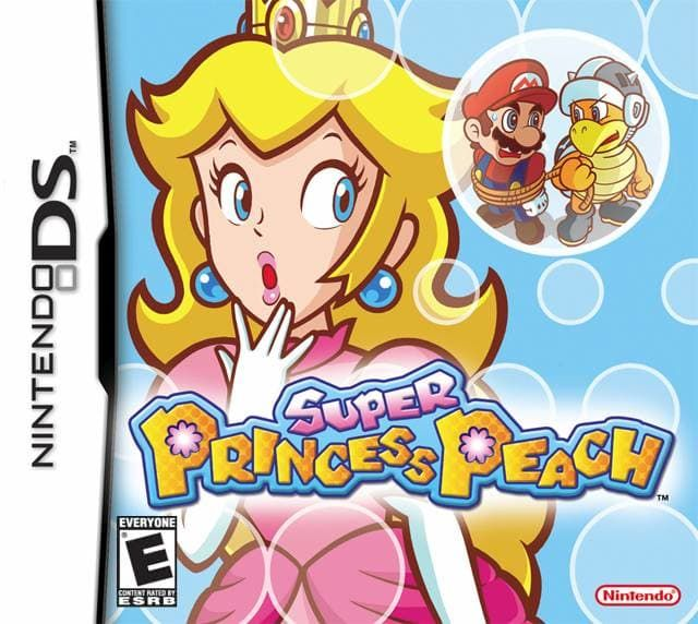 Super Princess Peach Ds Game With Images Super Princess Super