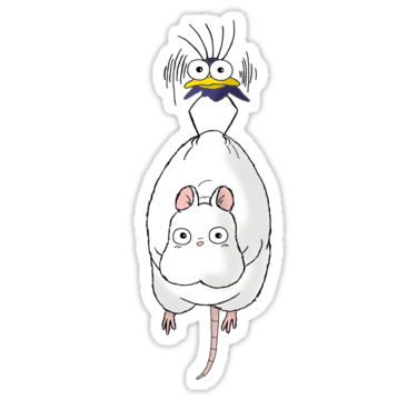 Spirited Away Mouse And Fly By Keelin Small Dessin De Mario Autocollants Imprimables Autocollant Stickers