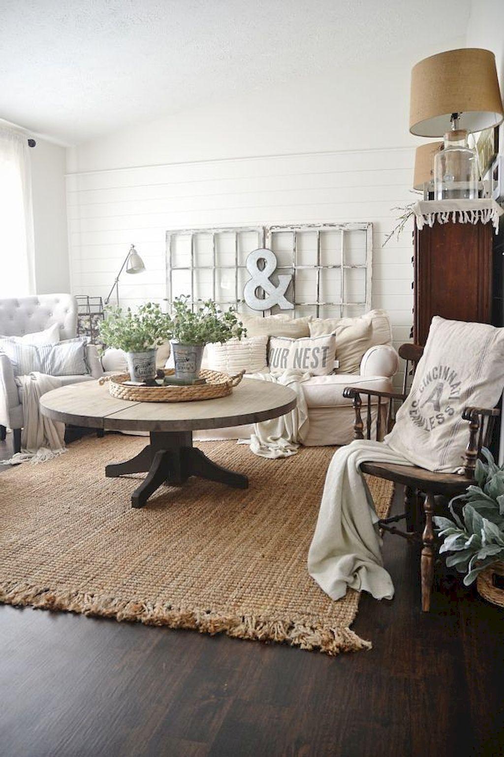 85 best farmhouse living room with rug decor ideas farm