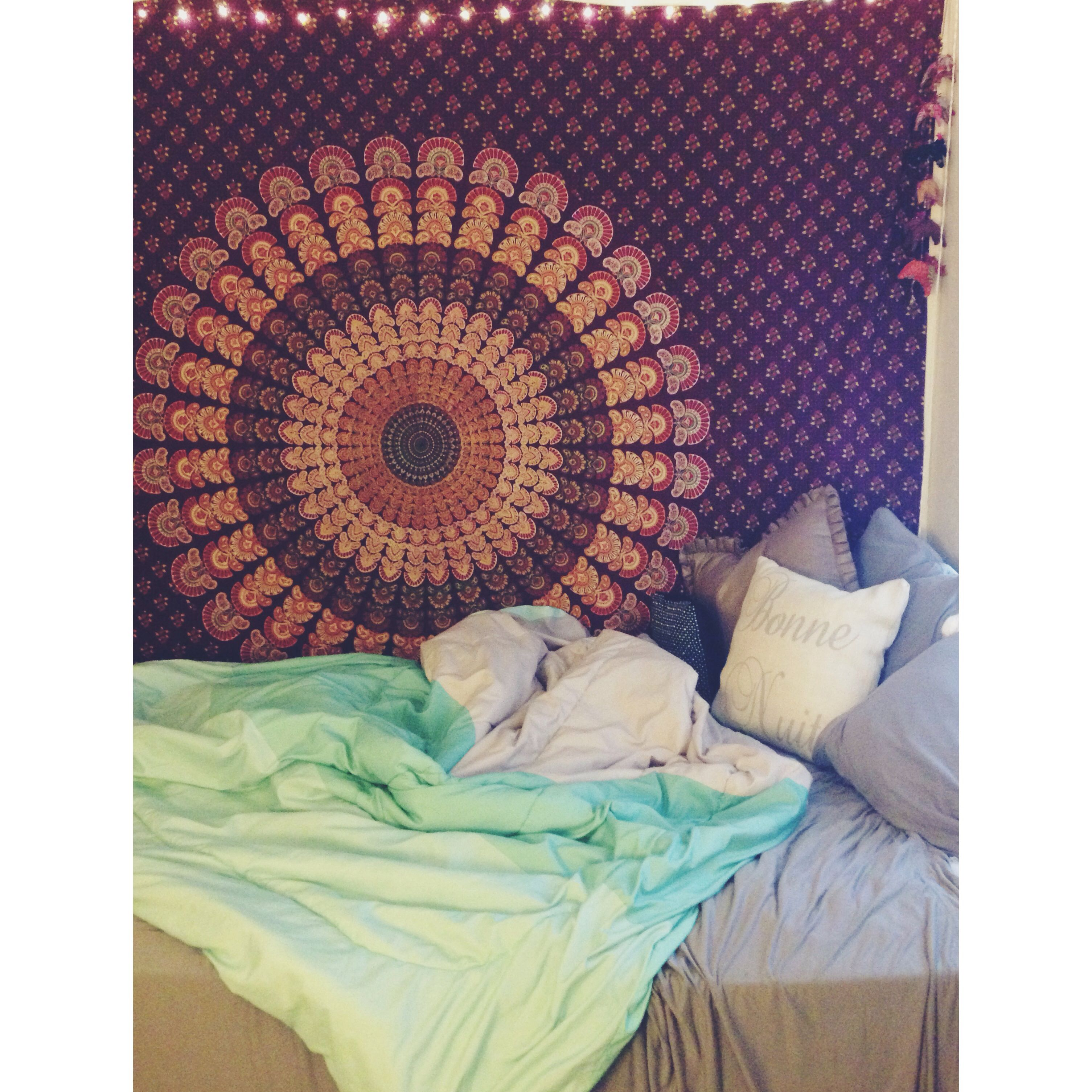 light college apartment rooms. Boho Tapestry Room Decor College Dorm Lights Apartment  Dorm Decor
