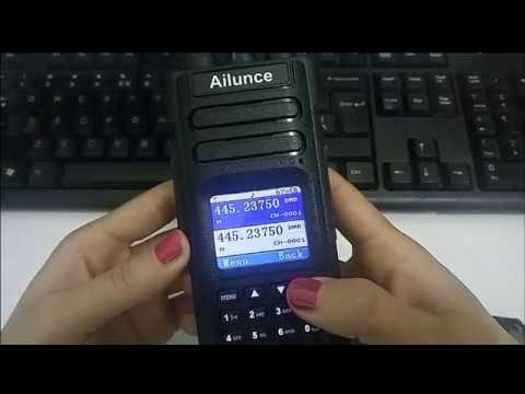 Delboy's Radio Blog: Ailunce HD1 DMR Radio - First Videos | Radios