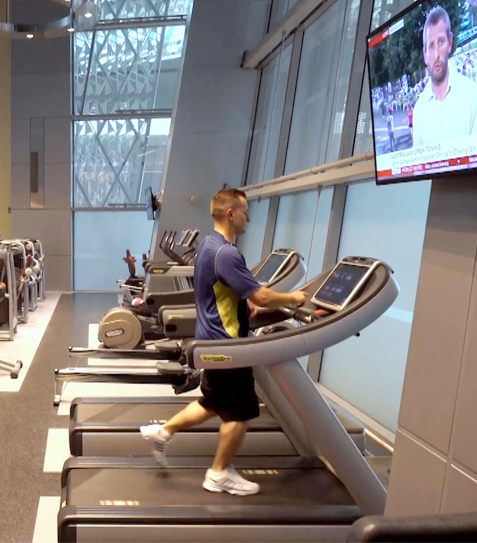 #Vitality Tips: Running on a treadmill generally burns ...
