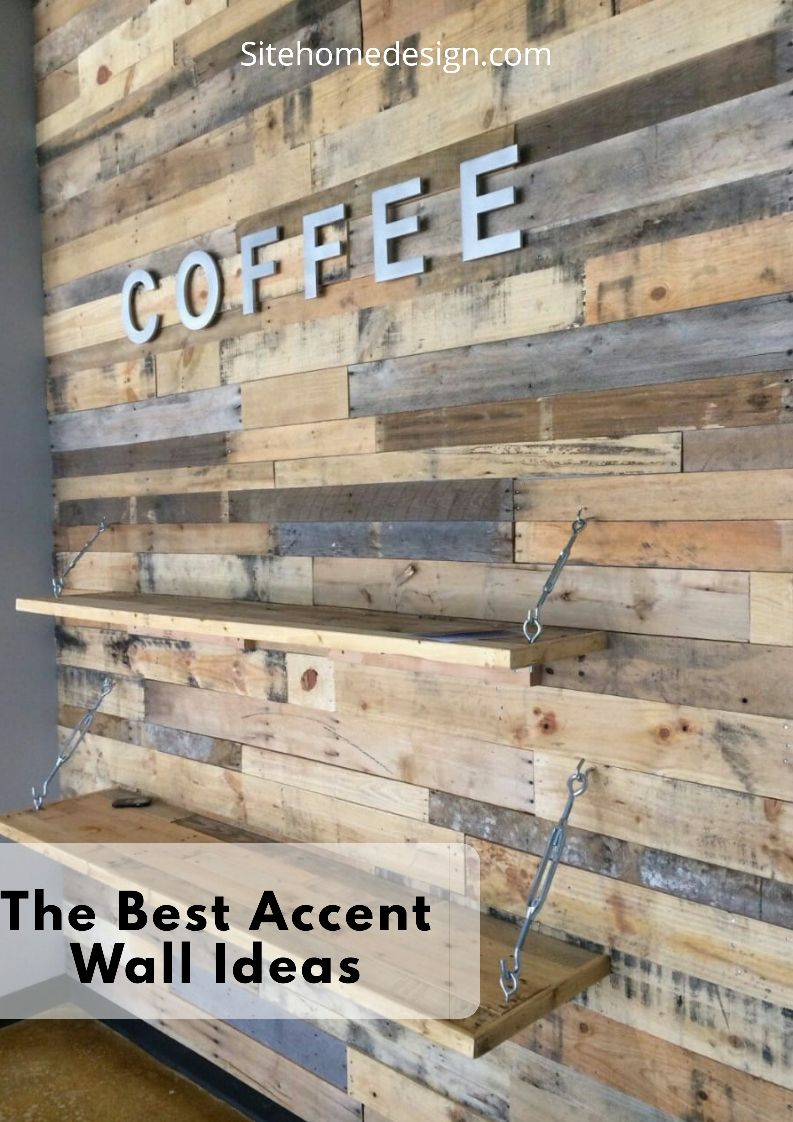 Top 16 Best Accent Wall Ideas For Your Home Diy Pallet Wall Diy Pallet Furniture Pallet Accent Wall