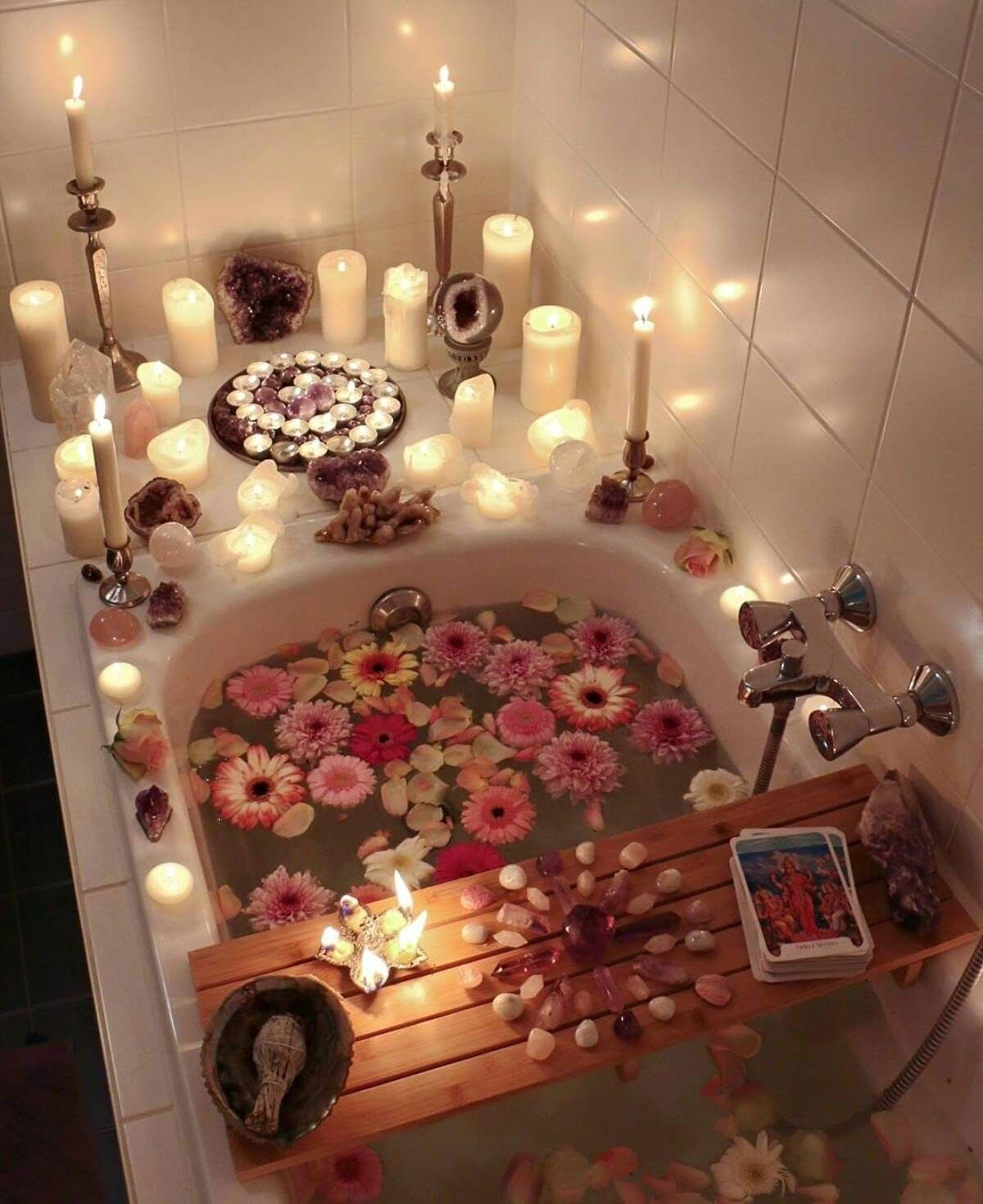 Image result for hippie bubble baths reading