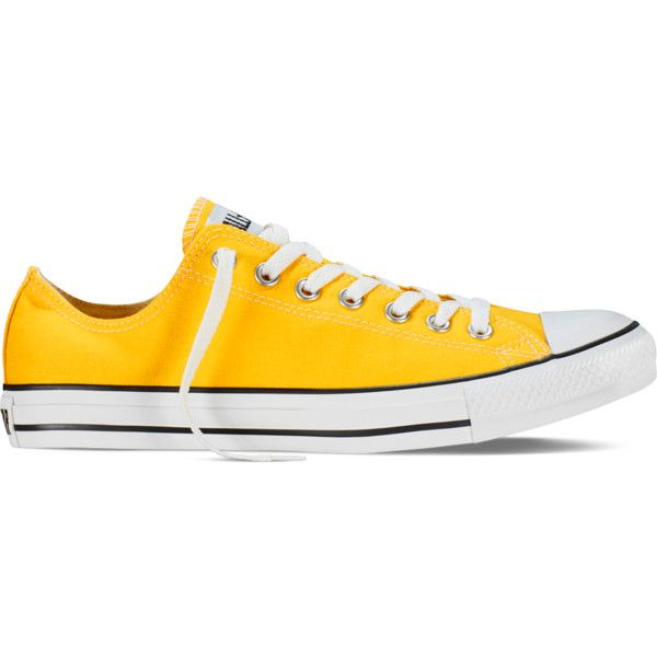 Converse Chuck Taylor All Star Fresh Colors – lemon chrome Sneakers ( 55) ❤  liked eab62a7a9