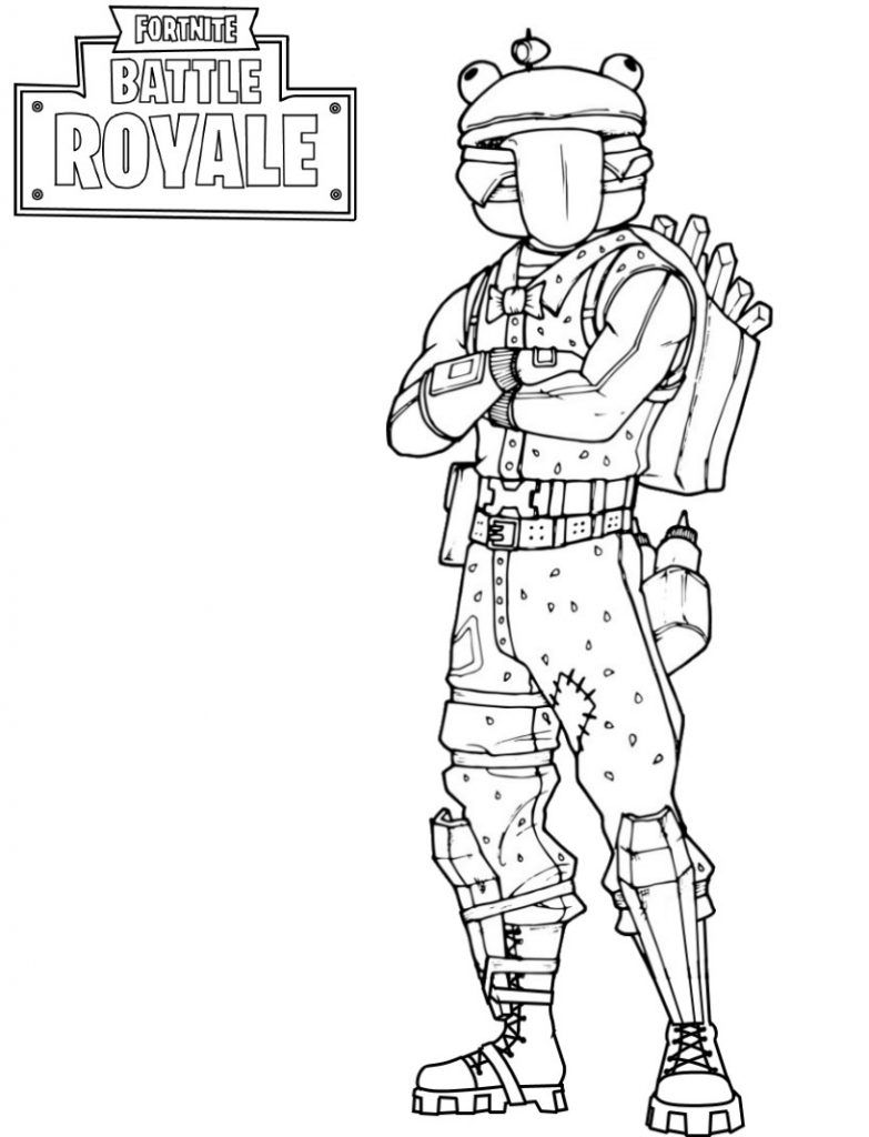 Fortnite Ausmalbilder Zum Ausdrucken Coloring Pages For Boys