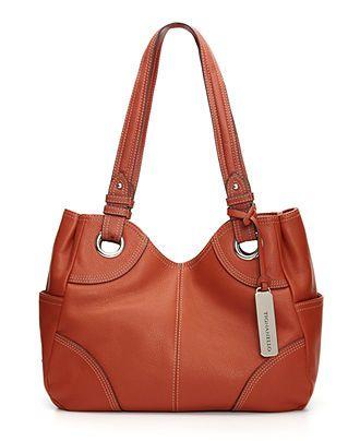 Tignanello Pebble Eyelet Shoulder Bag 81