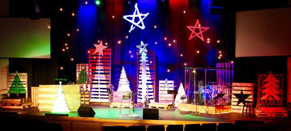 Christmas Designs   Church Stage Design Ideas   Santa Claus ...