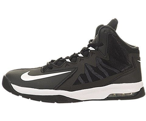 Nike Kids Air Max Stutter Step 2 (GS) Black/White/Stealth/Anthracite Basketball  Shoe 6 Kids US