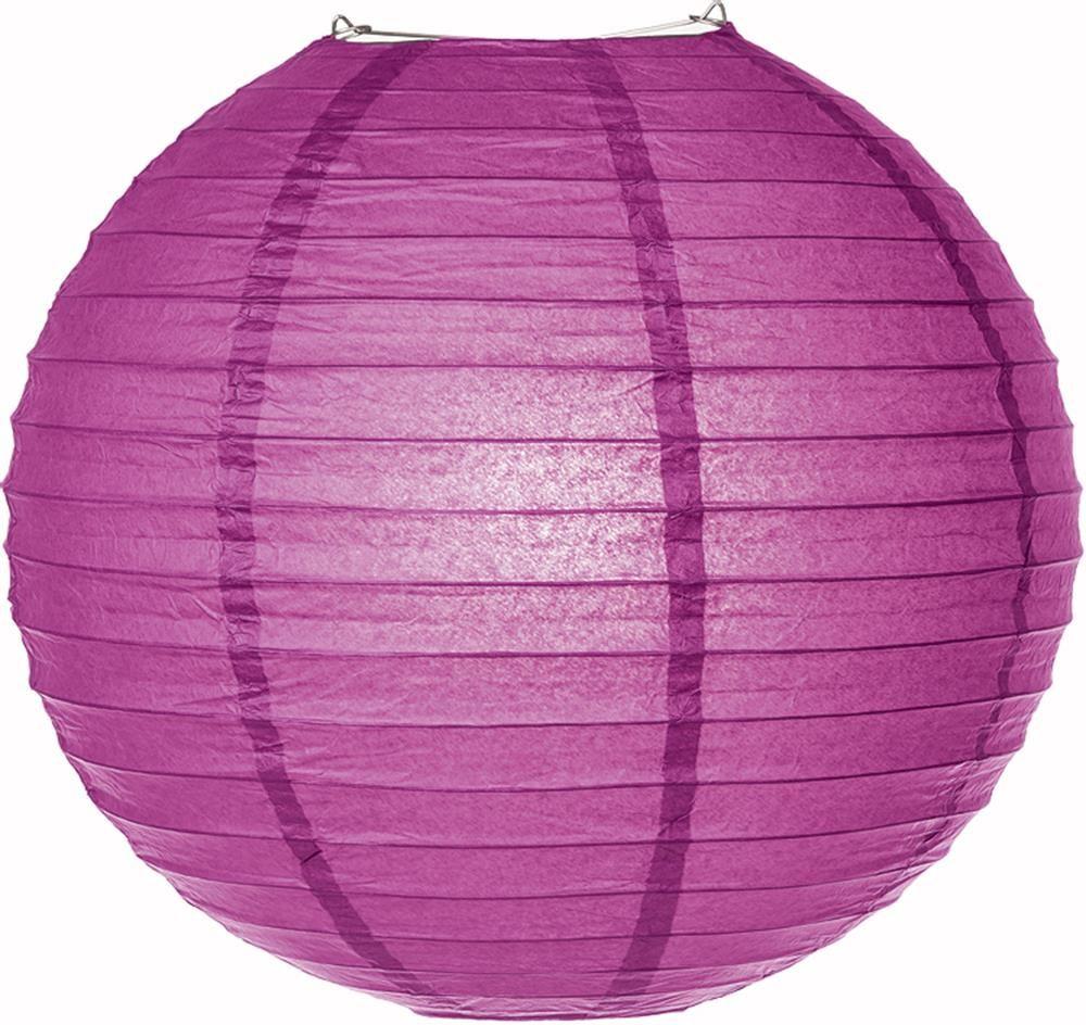 Purple Parallel Ribbing Paper Lanterns Paper Lanterns