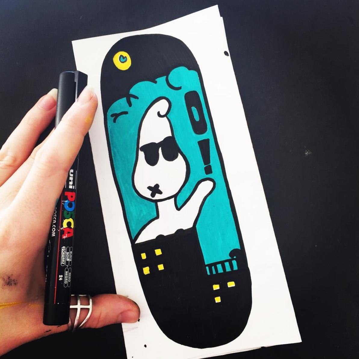 © 2020by OVER THE END - All rights reserved #doodleart #doodleartist #deckart #snowboardart #snowboardartist #shred #sendit #snowboarding #skateboardart #skateboarding #skateboard #skateboardartist #characterart #creatureart #mixedmedia #abstract #abstractart #funkyart #weird #weirdart #unusualart #art #surrealism #posca #doodle #brightcolours #neonart #unfineart #colourfulart #surrealism #psychedelicart