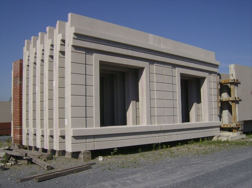 Precast concrete building enclosures google search for Building a concrete house