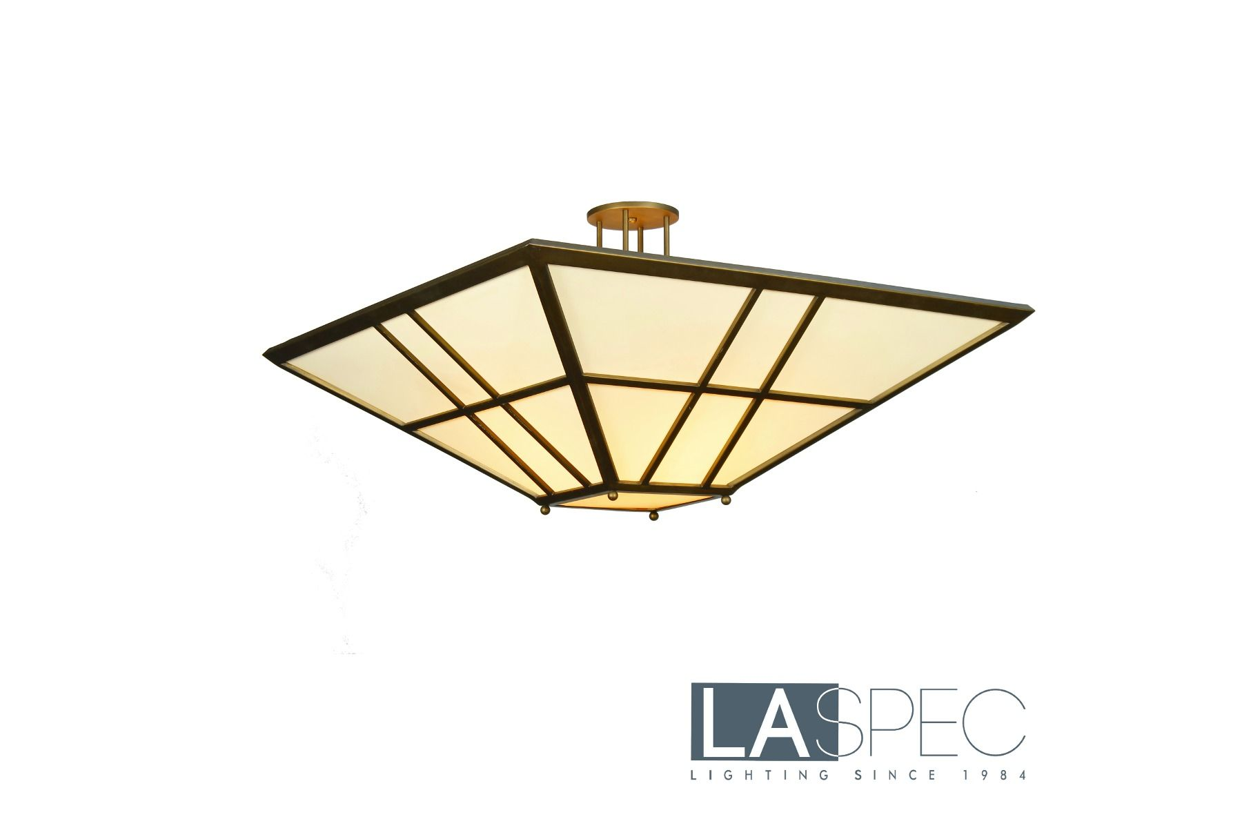Flat Triangle Custom Lighting Close To Ceiling Pendant