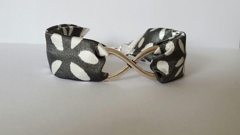 Bracelet Infini gris EloDie Bijoux