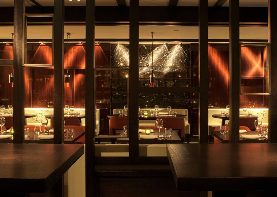 Modern Fine Dining Restaurant Hospitality Interior Design Hakkasan Mayfair London UK