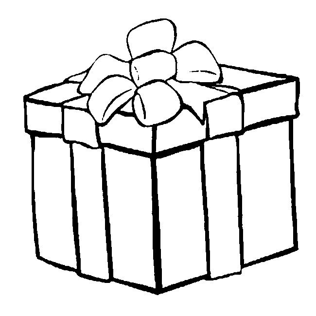 Coloring Page Christmas 13 Christmas Present Coloring Pages