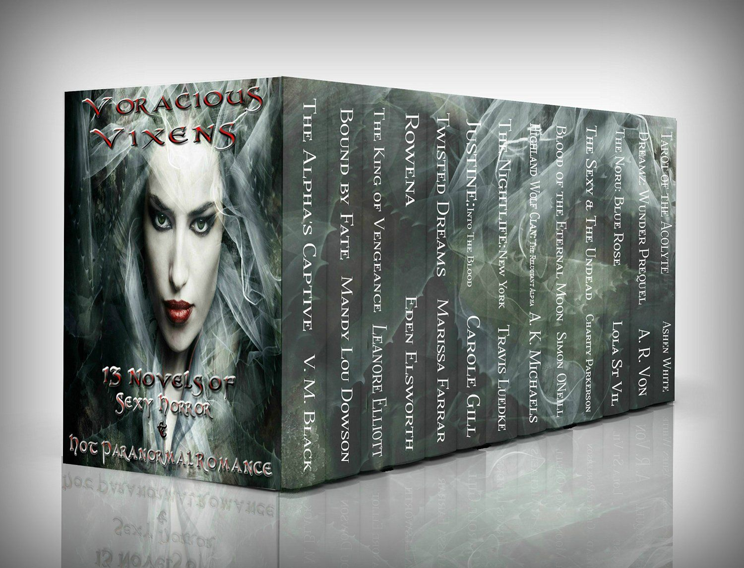 Voracious Vixens, 13 Novels of Sexy Horror and Hot Paranormal Romance (Adult Paranormal Romance Anthology)