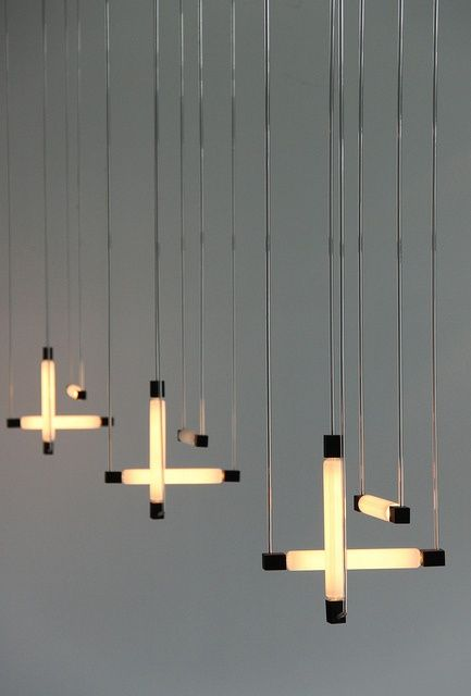 Hanging lamps by gerrit rietveld 1920