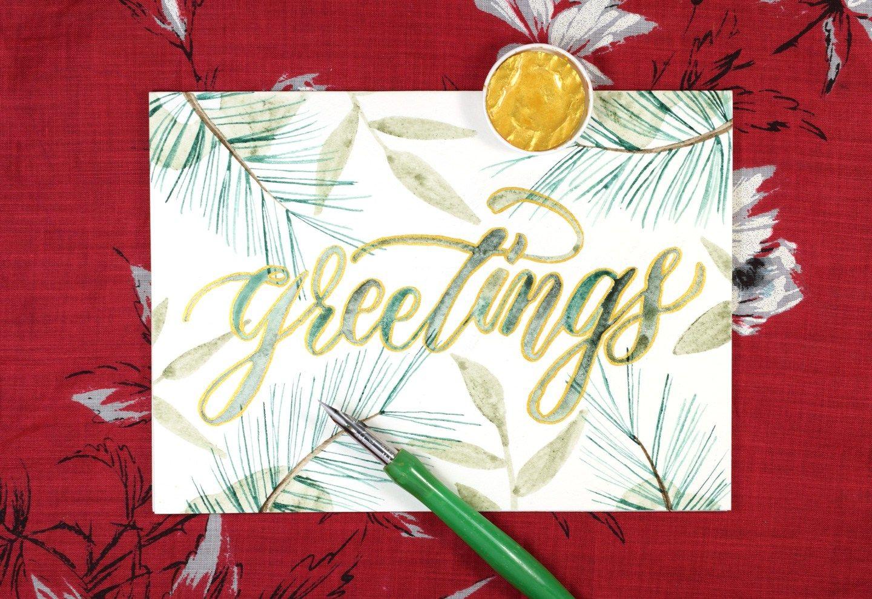 Embellished winter greeting card tutorial card tutorials embellished winter greeting card tutorial m4hsunfo