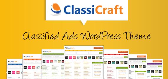ClassiCraft Tema WordPress para Anuncios Clasificados | Anunciable ...