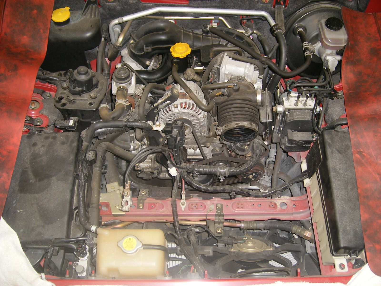 hight resolution of how to lift the engine out of the engine compartment mazda pinterest com mazda engine diagram