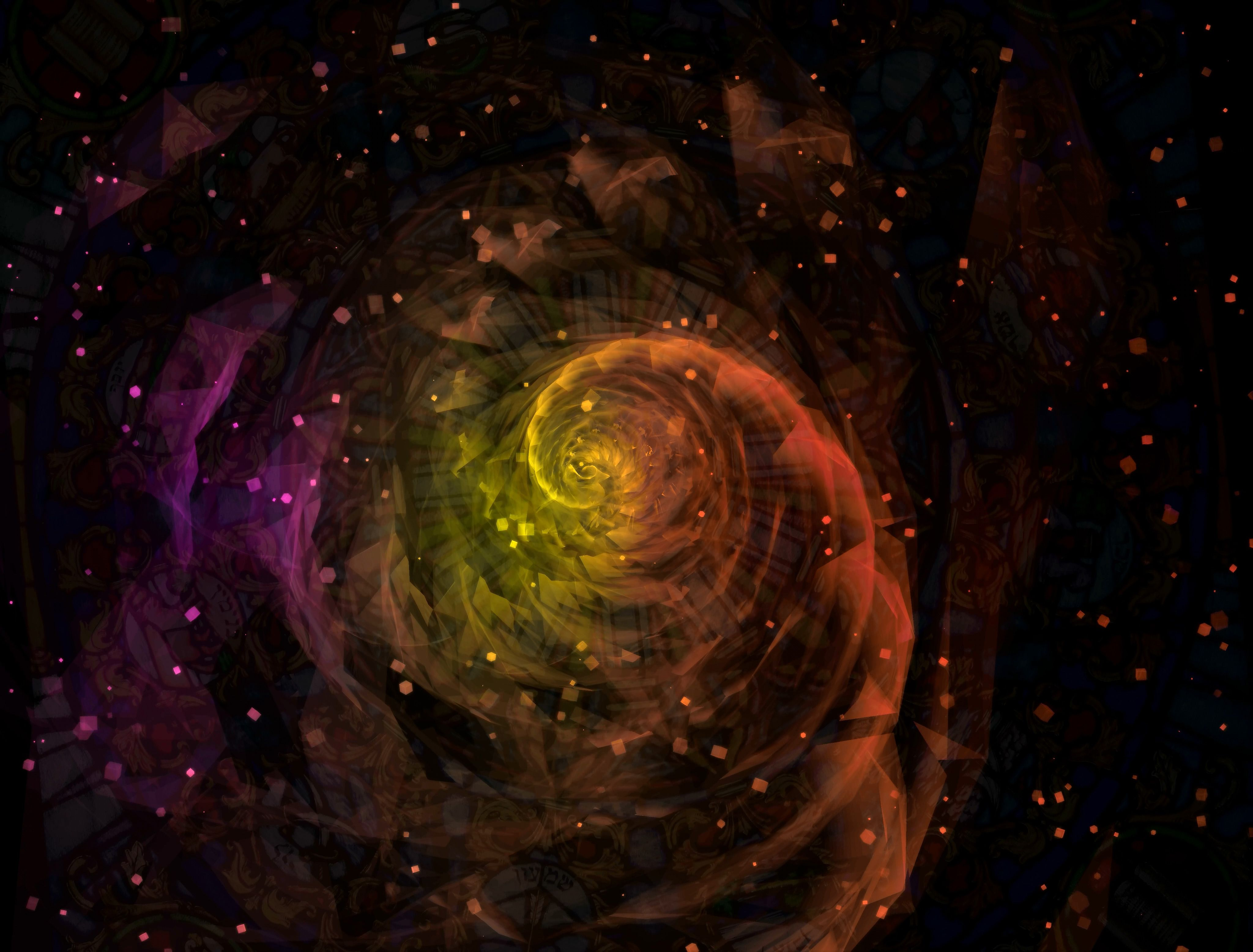 This Is A Scene Of The Gases Formation Of A Swirl In The Galaxy Our Universe Is Full Of Such Galaxies And Much Mor Abstract Backgrounds 4k Background Abstract