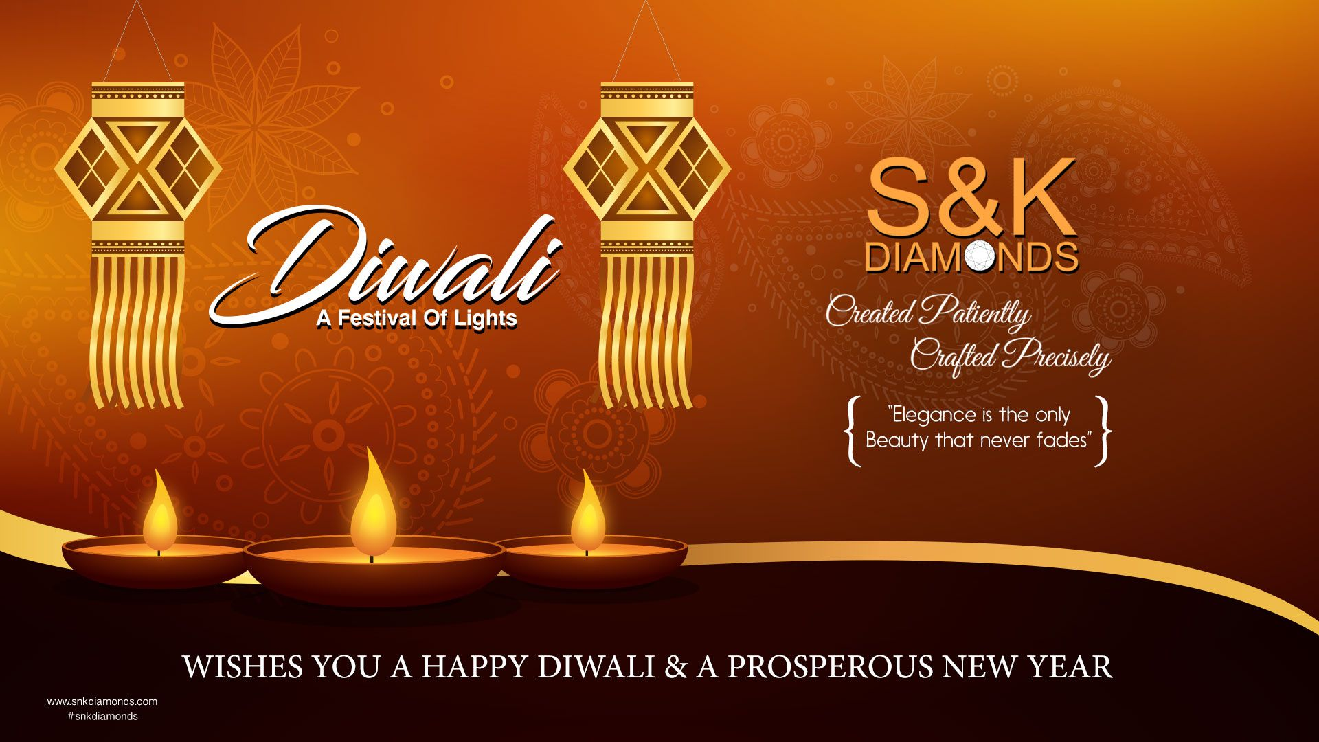 Wishes You A Happy Diwali And A Prosperous New Year To All Our