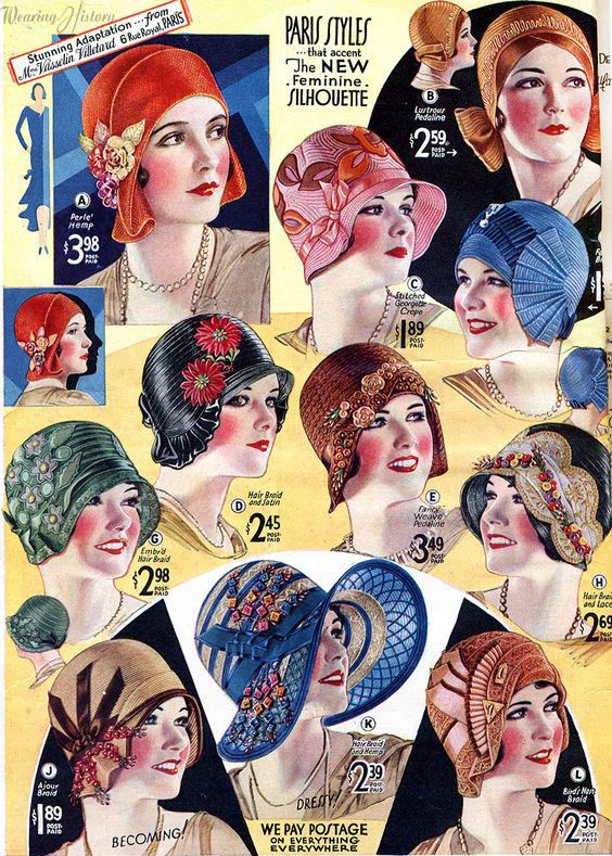 summer hats from 1930