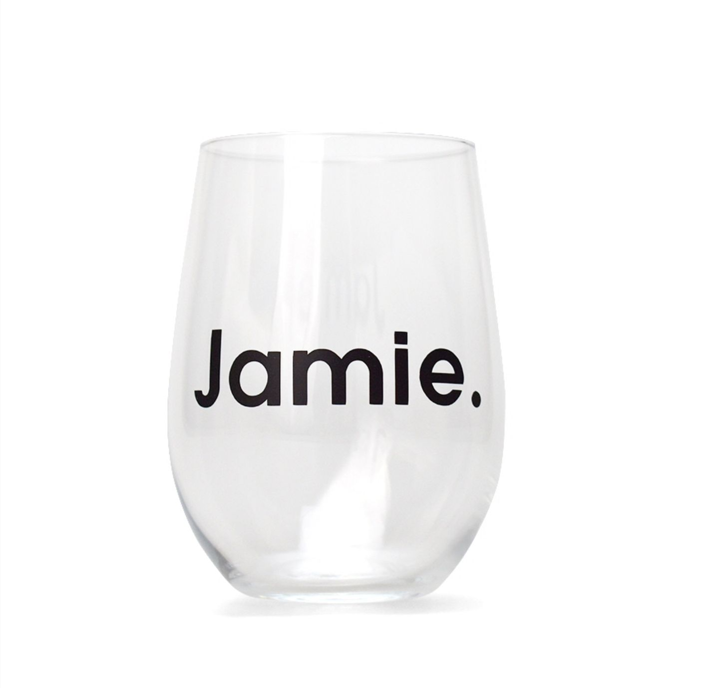 Personalised wine glasses. Perfect for bridesmaids gifts, groomsmen ...