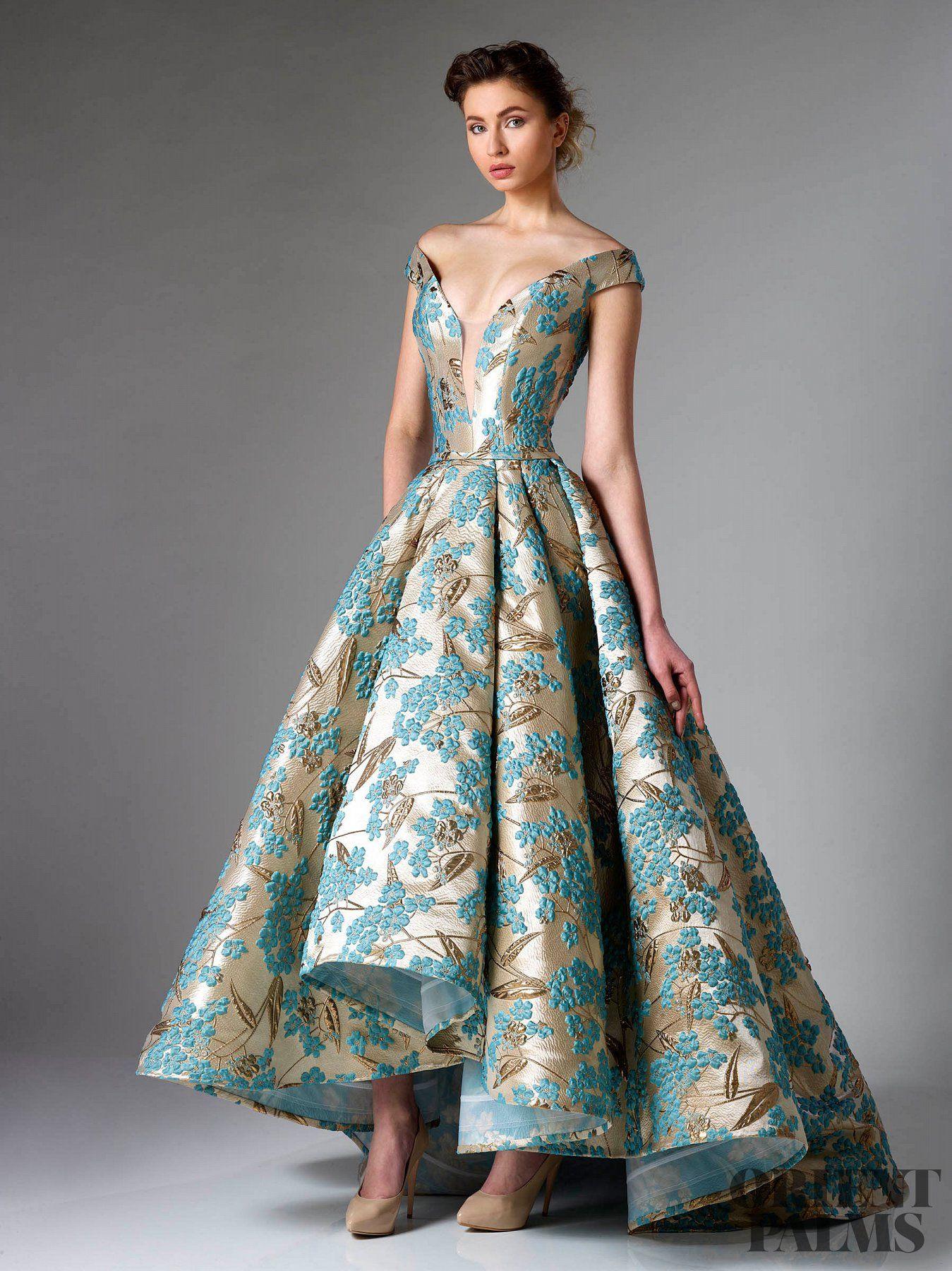 Edward Arsouni  Abendkleid, Designer kleider, Kleider