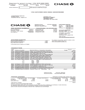 Fill Bank Statementpdf Download Blank Or Editable Online Sign Fax And Printable From Pc Ipad Tablet Bank Statement Personal Financial Statement Chase Bank