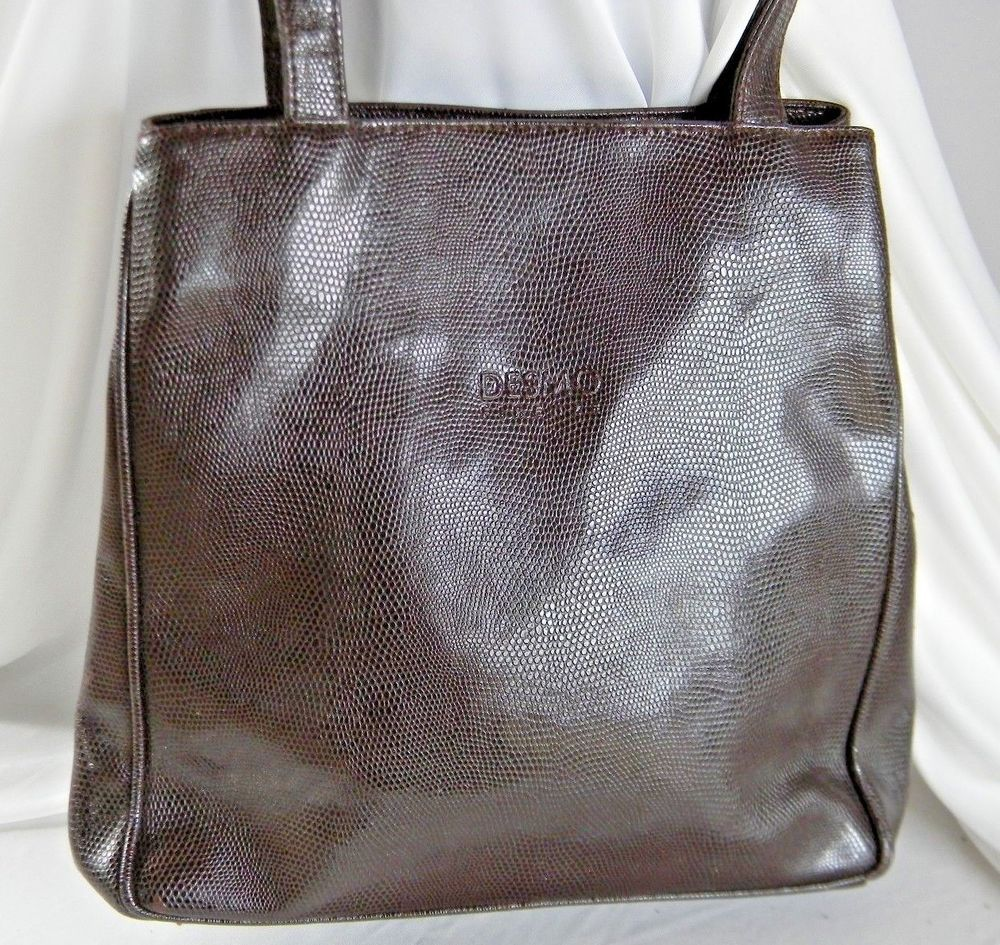 Desmo Firenza Brown PurseShoulder Bag Made In Italy in 2018 ... 239d6d36dc00a