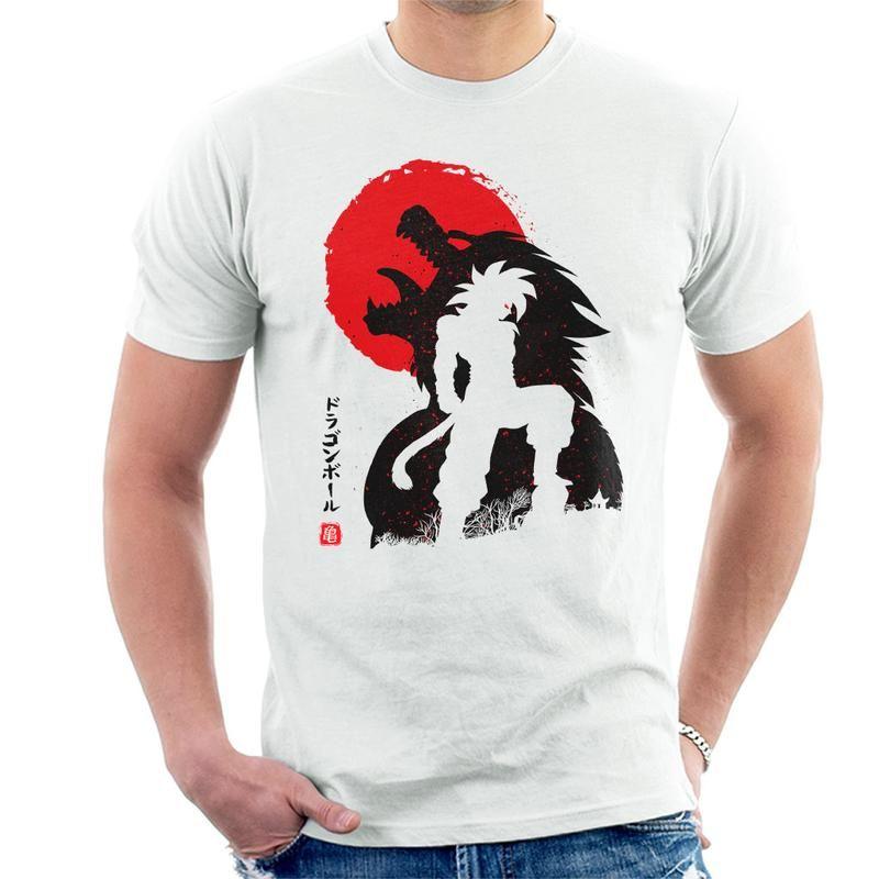Dragon ball z ozaru goku ssj4 mens tshirt by