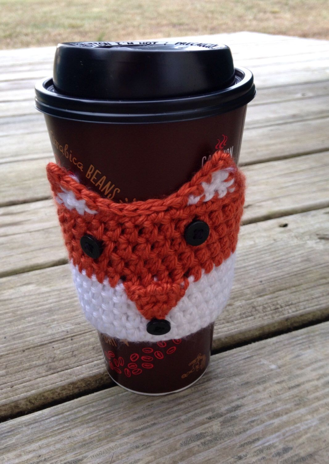 Starbucks Cup Cozy Crochet Pattern Magnificent Decoration
