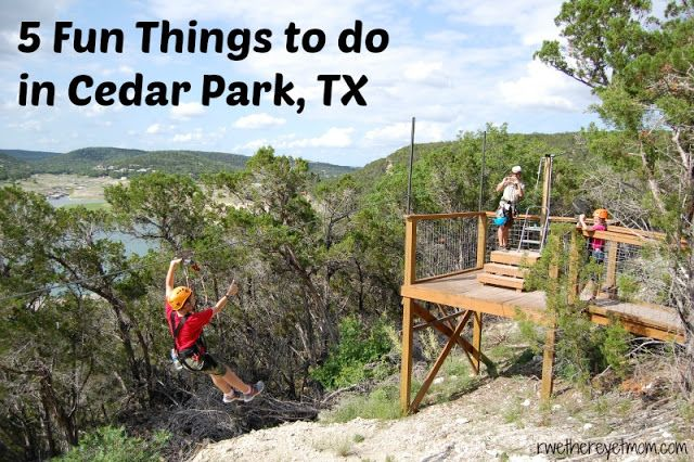 5 Fun Things to do in Cedar Park, Texas - R We There Yet Mom?