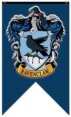 Harry Potter Ravenclaw Crest Banner Fabric Poster 30 X 5 Https Www Amazon Com Dp B01gvt6dvs Harry Potter Decor Harry Potter Theme Harry Potter Ravenclaw